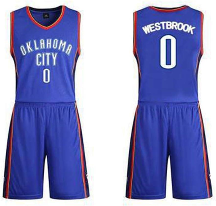 Camisetas de baloncesto de la NBA para hombre Russell Westbrook ...