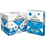 Georgia-Pacific Spectrum® Standard 92 Multipurpose Paper, 8.5 x 11 Inches, 1 box of 5 packs (2500 Sheets) (991316)