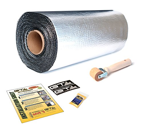 50 sqft GTMAT Pro 50mil Automotive Car Self Adhesive Sound Dampening Noise Deadening - Installation Kit Includes: 50sqft Roll (18