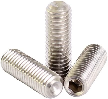 HEXAGON HEAD SET SCREWS Stainless Steel Similar 2 Bolts M2 to M4 A2 /& A4 Din 933