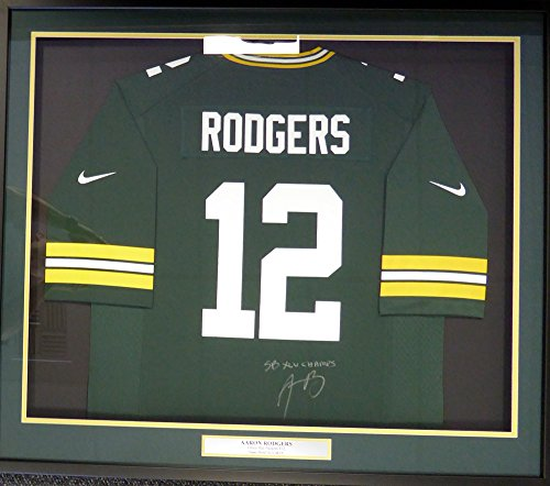 Aaron Rodgers Autographed Jersey (Green Bay Packers Aaron Rodgers Autographed Framed Authentic Jersey