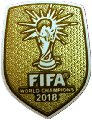 Russia 2018 World Cup Football France Winner Embroidered Iron Sew on Badge Patch