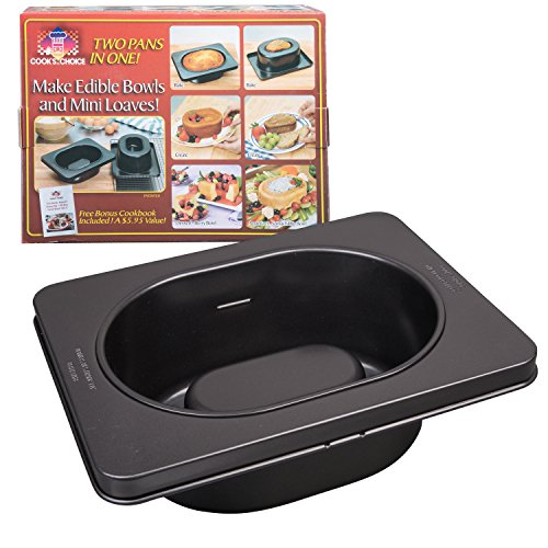 The Original Better Baker Edible Food Bowl Maker- Bake Extra Large Dessert & Dinner Bowls or Muffins