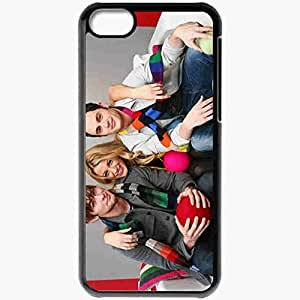 Personalized iPhone 5C Cell phone Case/Cover Skin Actors Gossip Men Girl Blake Lively Black