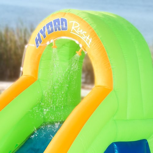 Inflatable Water Slide Dubai: Blast Zone Hydro Rush Inflatable Water Park In The UAE