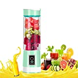 Daupup Juice Blender, Portable Handheld Personal Electric Blender, Cordless USB Rechargeable, for Smoothie Baby Food Milk Fruit Travel Office, 500ml Water Bottle