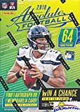 2018 Panini Absolute NFL Football EXCLUSIVE Factory Sealed Retail Box with AUTOGRAPH or MEMORABILA Card! Look for Rookies & Auto's of Baker Mayfield, Sam Darnold, Saquon Barkley & More! WOWZZER!