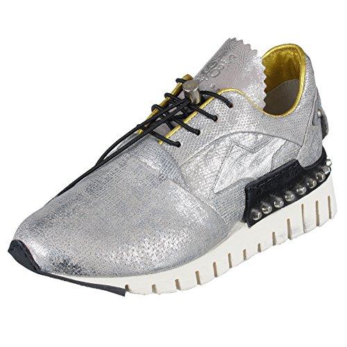 Acier Chaussure De As98 Silber-as-647101-0601 Acier (argent)