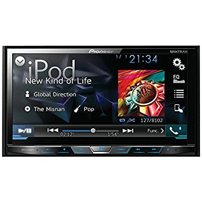 "Pioneer AVH-X4700BS DVD Receiver with 7"" Motorized Display, Bluetooth, Siri Eyes Free, SiriusXM-Ready, Android Music Support, and Pandora (AVHX4700BS)"