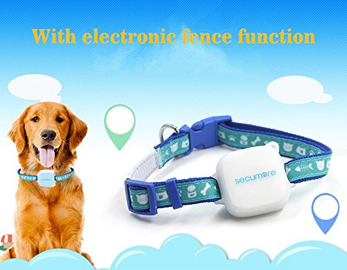 Mini GPS Tracker Locator, Personal GSM GPRS Tracking With Pets Collar for Kids Pet Cat Dog and Car with Google Map & SOS Panic Button Alarm by GTKK