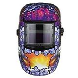 Walmeck Industrial Welding Helmet Solar Power Auto Darkening Welding Helmet TIG MIG Mask Grinding Joker Design