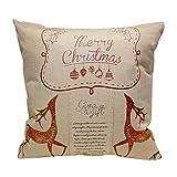Pillow Case,Vovotrade Christmas Sofa Bed Home Decoration Festival Pillow Case Cushion Cover
