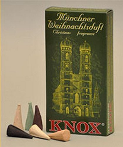 Knox Munich German Incense Cones Variety Pack Made Germany for Christmas Smokers (Cones Christmas Incense)