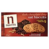 Nairn's Dark Choc Chip Oat Biscuits (200g) - Pack of 2