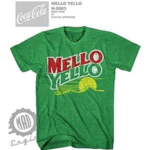 Coca-Cola Mellow Yellow logoT-Shirt CC9026WM (2X-LARGE)