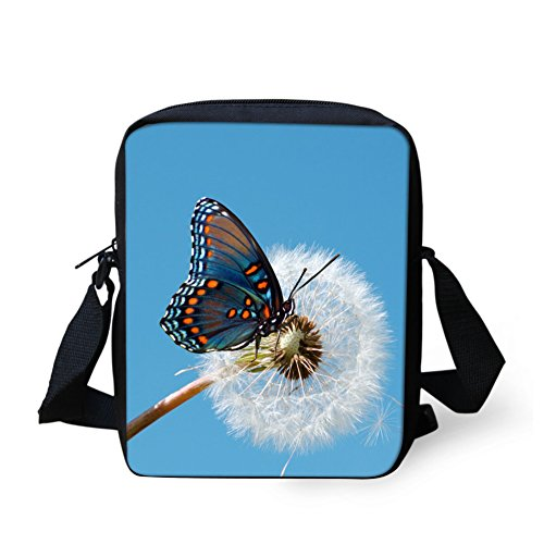 Crossbody Women for Butterfly6 HUGS Butterfly Mini Print Bags IDEA Girl Handbags wwfIqP8A