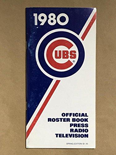 CHICAGO CUBS MLB BASEBALL MEDIA GUIDE 1980 SPRING EX+/NM