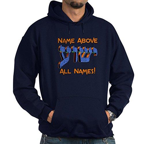 CafePress - Name Above! - Pullover Hoodie, Classic & Comfortable Hooded Sweatshirt (Valentine Sweatshirt Name)