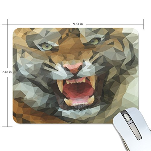 Ye Store Polygon Tiger   Imgur Lengthen Thickening Of The Mouse Pad For Office Games