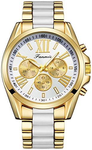 White Gold Unisex Watch - 9