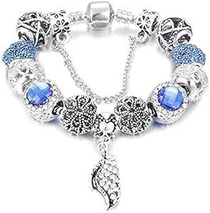 Valentine's Day DIY Silver Bracelet
