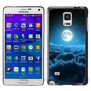 Be Good Phone Accessory // Dura Cáscara cubierta Protectora Caso Carcasa Funda de Protección para Samsung Galaxy Note 4 SM-N910 // Space Planet Galaxy Stars 65