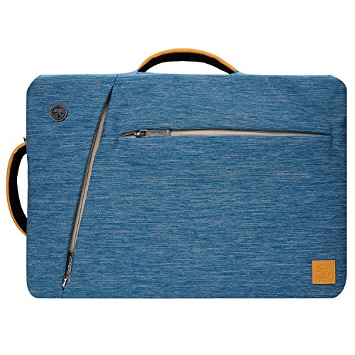 lightweight blue hybrid messenger briefcase