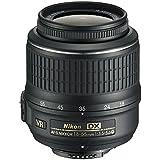 Nikon AF-S DX NIKKOR 18-55mm f/3.5-5.6G Vibration Reduction VR Zoom Lens with Auto Focus for Nikon DSLR Cameras (White Box)