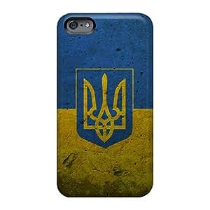 Apple Iphone 6 SwF1815eFBQ Support Personal Customs Colorful Grunge Ukraine Presidential Flag Pictures Shockproof Hard Phone Case -WandaDicks