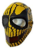 Airsoft Mask,Paintball Mask, Protective Gear,Full Face Mask,Outdoor Sport Fancy Party Masks