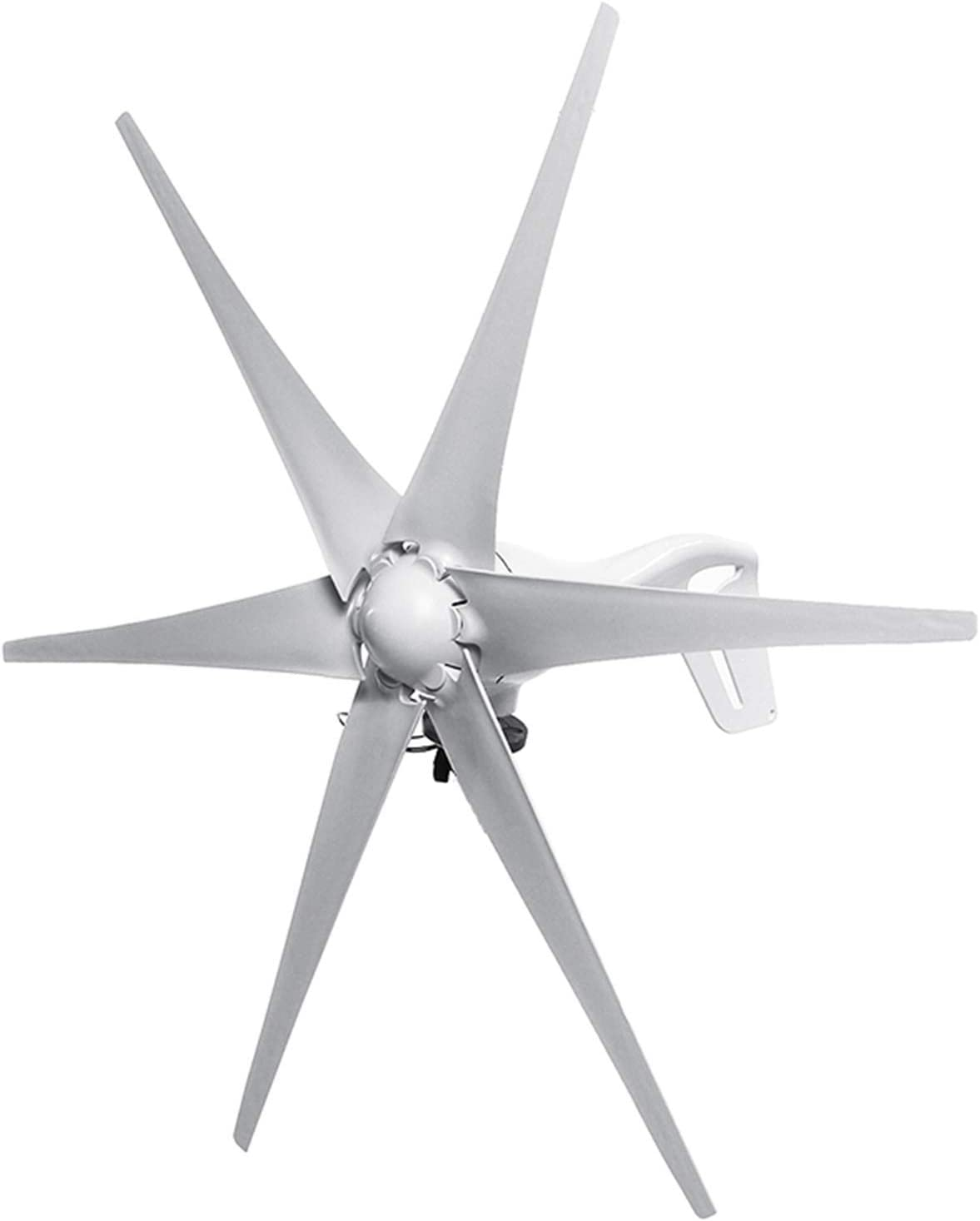2500W Home 6 Blades Wind Turbine,DC 12V/24V Generator Power Battery Charge with Controller Free Energy for Street Lamps Home