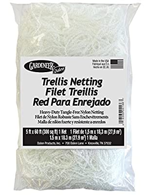 Dalen Products Trellis Netting Heavy-Duty Tangle-Free Nylon Net 5 ft x 60 ft, Model: TP-60, Home/Garden & Outdoor Store