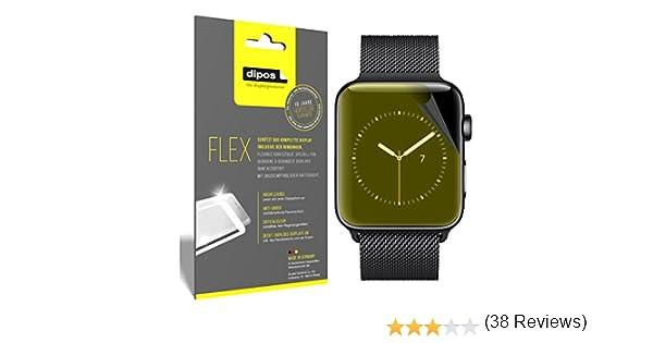 dipos I 3X Protector de Pantalla Compatible con Apple Watch Series ...