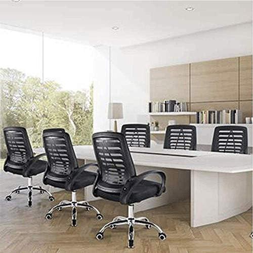 QYBAMZLD Chaise de Bureau Confortable Chaises de Bureau ergonomiques High Back Mesh avec chaises de Bureau réglables Chaises d'ordinateur
