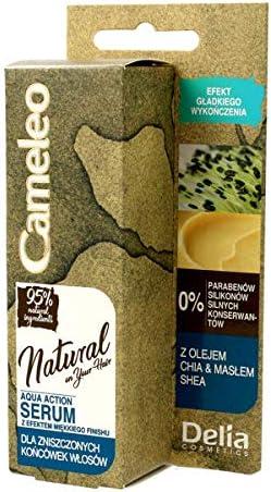 Serum Capilar de Chia Oil & Butter Shea -Tratamiento Natural para su pelo - hidrata, suaviza y aporta un efecto sano para su pelo 50ml