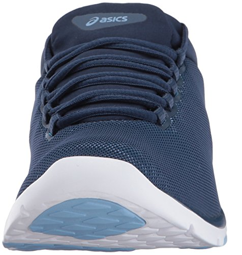 Asics Women's Gel-Fit Sana 3 Cross-Trainer Shoe, Pink Insignia Blue/Silver/Airy Blue