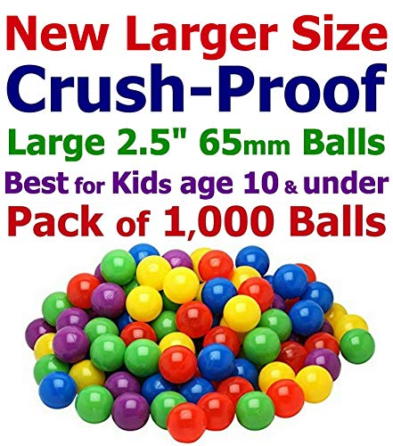 CMS Pack of 1000 Multi-Color Large 2.5