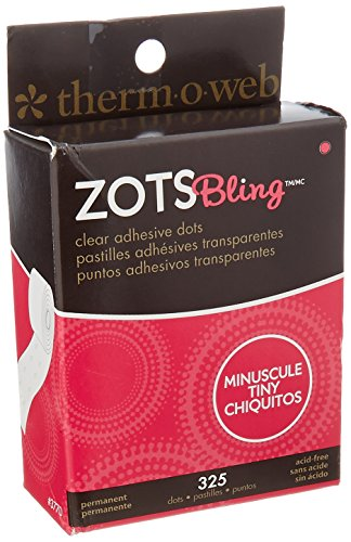 therm.o.web Zots Clear Adhesive Dots-Bling Tiny 1/8