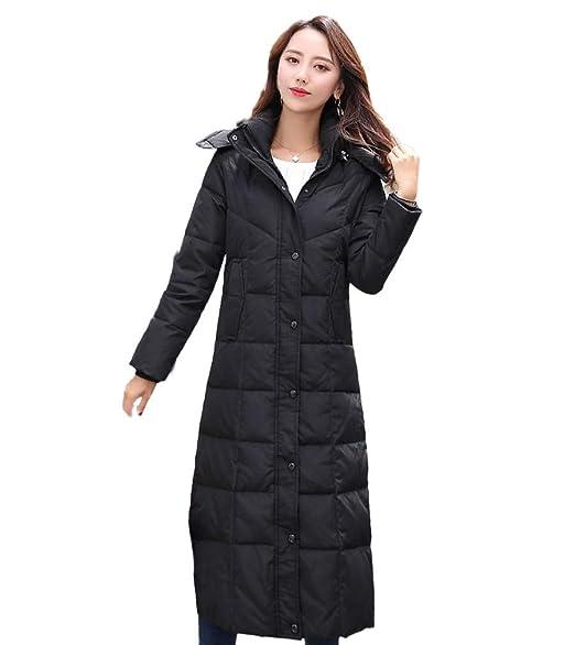 Amazon.com: Lukitty - Chaqueta de invierno con capucha para ...