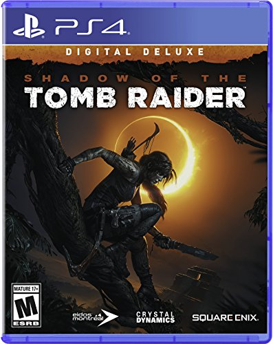 Shadow of the Tomb Raider - Digital Deluxe Edition - PS4 [Digital Code] by Square Enix