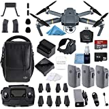 DJI Mavic Pro Fly More Combo Collapsible Quadcopter 3 Batteries, 64gb, Charging Hub +...
