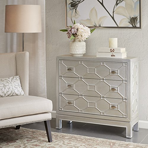 Madison Park Fleming 3 Drawer Chest Metallic See - Drawer Madison 3