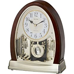 Rhythm Clocks Joyful Crystal Bells Musical Motion Mantel Clock