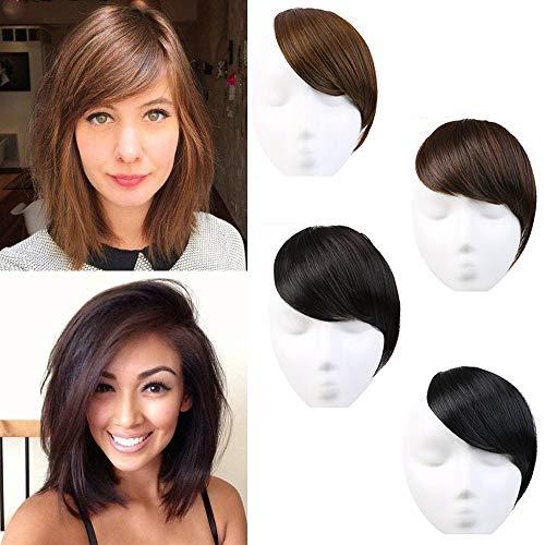 side bangs hair extensions - 7