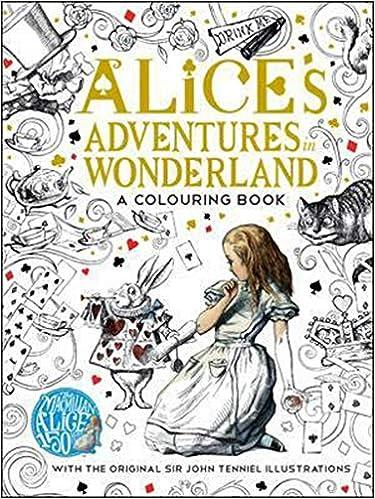 The Macmillan Alice Colouring Book Macmillan Classic Colouring Books ...