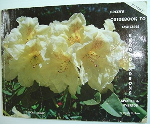 available rhododendrons: Species & hybrids ()