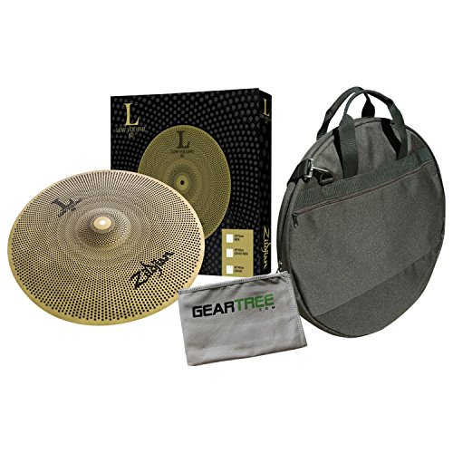 (Zildjian L80 Low Volume 20 Inch Ride Cymbal w/Cleaning Cloth and Cymbal Bag)