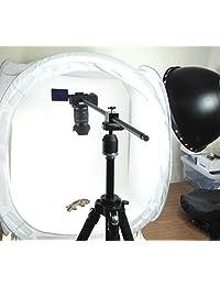 ? Columna horizontal ALZO para cámara negra, accesorio de trípode para apoyar una cámara para la proyección posterior del producto