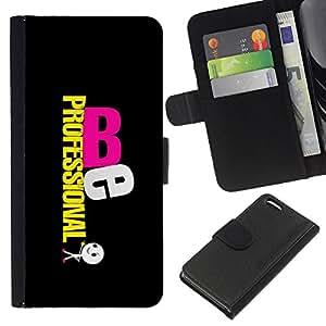 BearCase / Cuero de la tarjeta la carpeta del tirón Smartphone Slots Protección Holder /// Apple Iphone 5C /// Sé Profesional