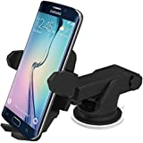 iOttie HLCRIO132 Easy One Touch Wireless Qi Standard Car Mount Charger for Qi Enabled Devices - Standard Packaging - Black